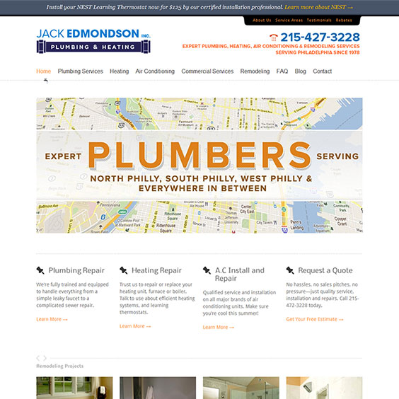 Jack Edmondson Plumbing & Heating
