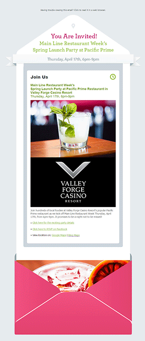 Pixel Engine - Main Line Restaurant Week - Case Study - Email Marketing