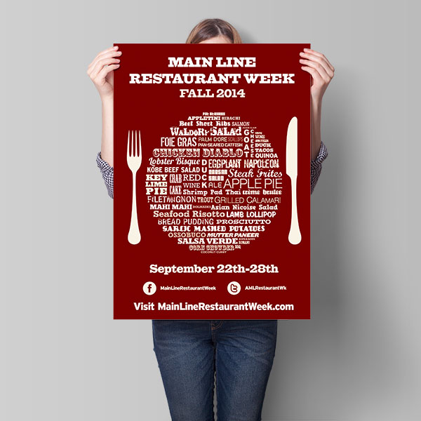 Pixel Engine - Main Line Restaurant Week - Case Study - Marketing