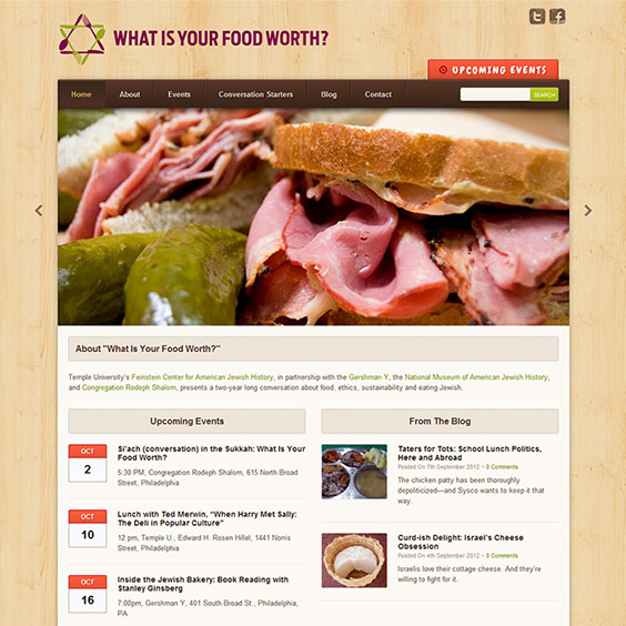 What Is Your Food Worth? Web Design & Development